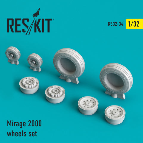 Mirage 2000 Wheels Set
