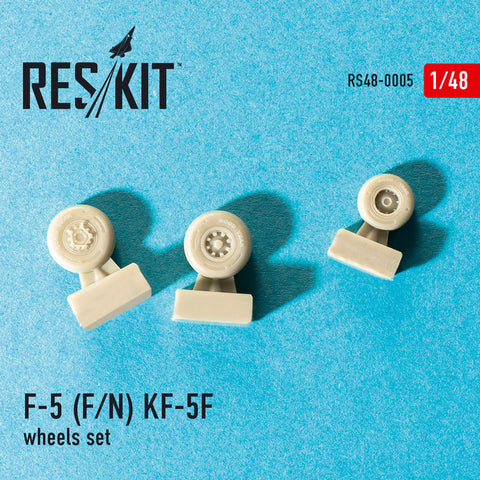 "Northrop F-5 (F/N), KF-5F ""Tiger II"" Wheels Set"
