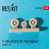 "Lockheed F-104 A/B/C/D ""Starfighter"" Wheels Set"