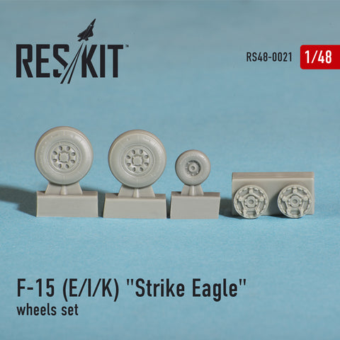 "McDonnell DouglasF-15 (E/I/K) ""Strike Eagle"" Wheels Set"