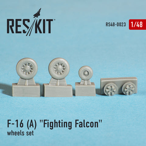 "General Dynamics F-16 A ""Fighting Falcon"" Wheels Set"