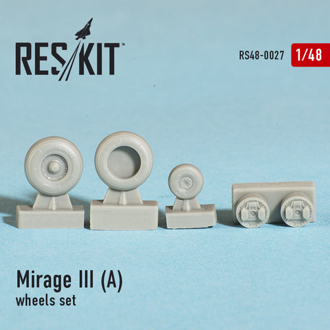 Dassault Mirage III (A) Wheels Set