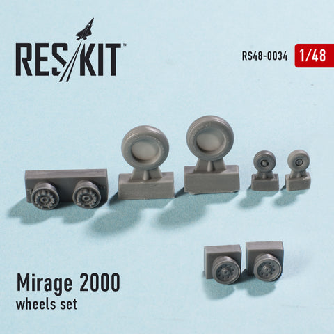 Dassault Mirage 2000 wheels set
