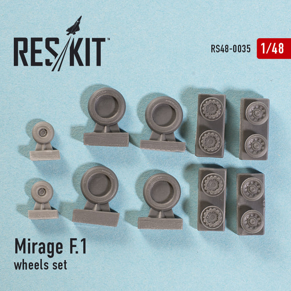 Dassault Mirage F.1 wheels set