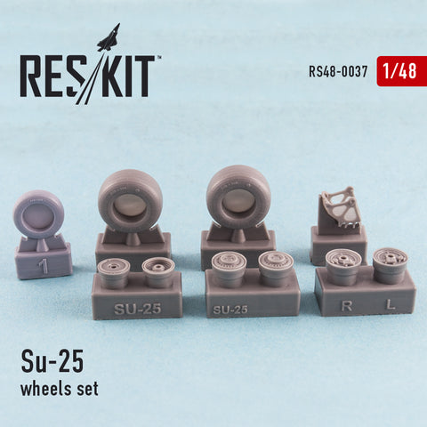 Su-25 wheels set