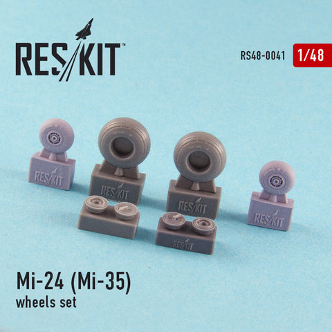 Mi-24 (Mi-35) Wheels Set