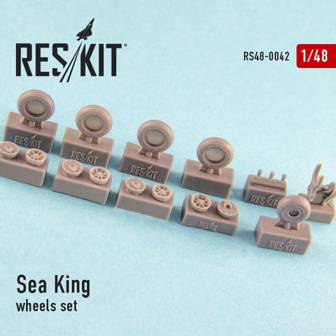 Sea King (all versions) Wheels Set