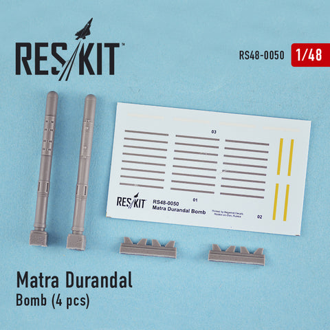 Matra Durandal Bomb (4 pcs) (F-15 E Strike Eagle, F-111, Mirage 2000)