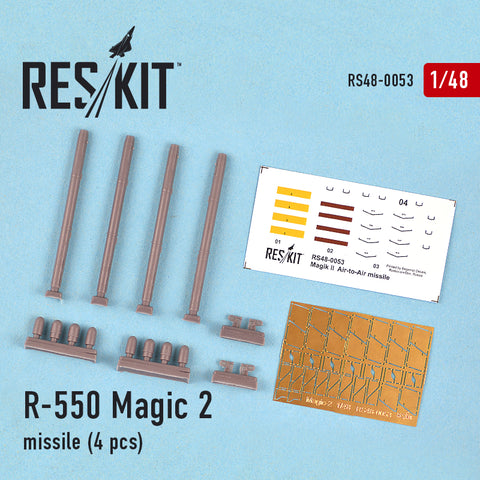 R-550 Magic-2 missile (4 pcs) (Mirage f.1, Mirage 2000, Mirage III, Rafale, Super Etendard)