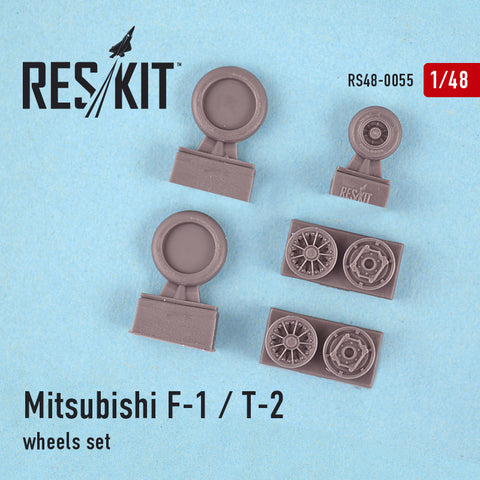 Mitsubishi F-1 / T-2 Wheels Set