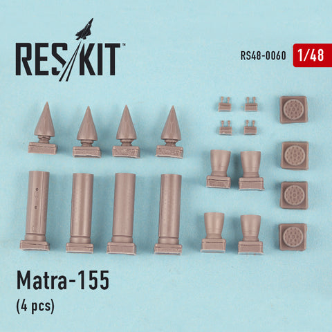Matra-155 (4 pcs) (Hunter, Canberra, Harrier, Phantom, Jaguar, Hawk, Strikemaster,)