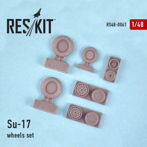 Su-17 Wheels Set