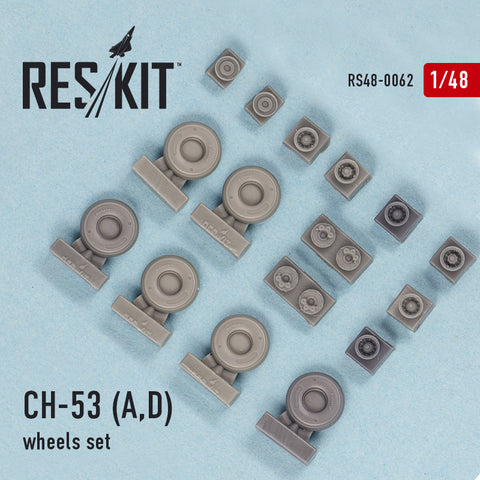 CH-53 (A,D) Wheels Set