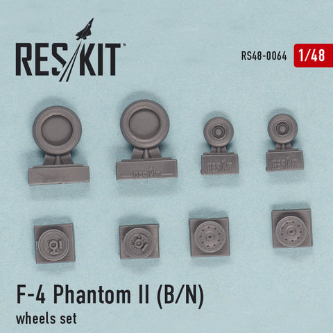 F-4 Phantom II (B, N) Wheels Set