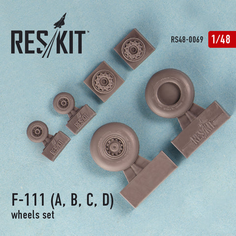General Dynamics F-111 (A, B, C, D) Wheels Set