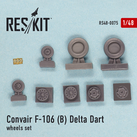 Convair F-106 (B) Delta Dart Wheels Set