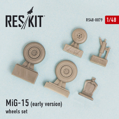 MiG-15 (early version) Wheels Set