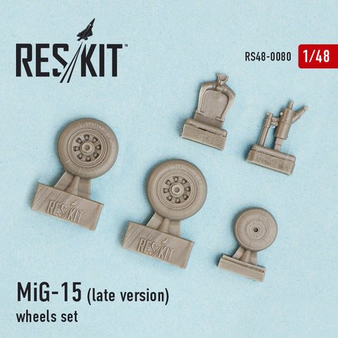 MiG-15 (late version) Wheels Set