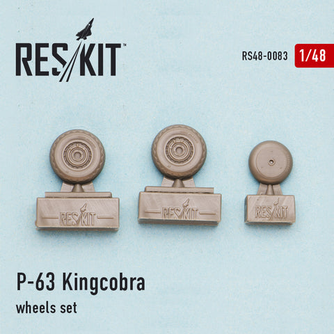 P-63 Kingcobra Wheels Set