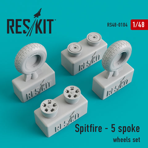 Spitfire - 5 spoke Wheels Set