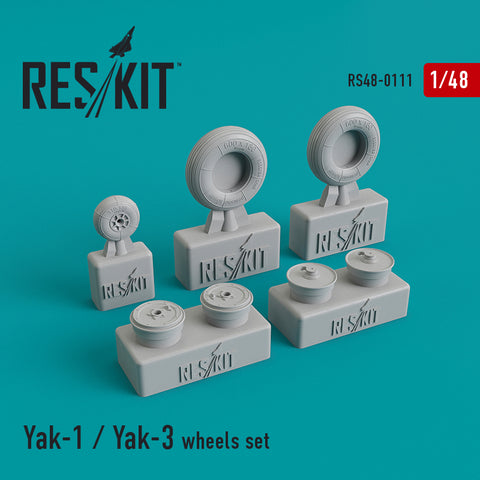 Yak-1 / Yak-3 Wheels Set