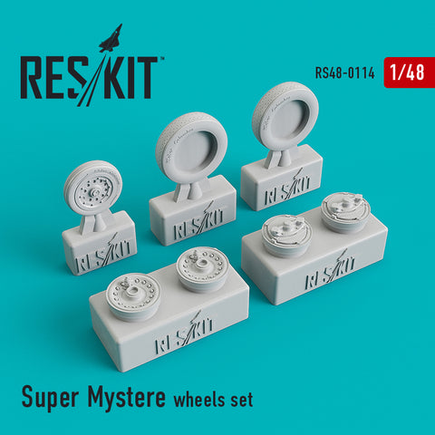Dassault Super Mystere Wheels Set