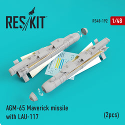 AGM-65 Maverick missile with LAU-117 (2pcs)