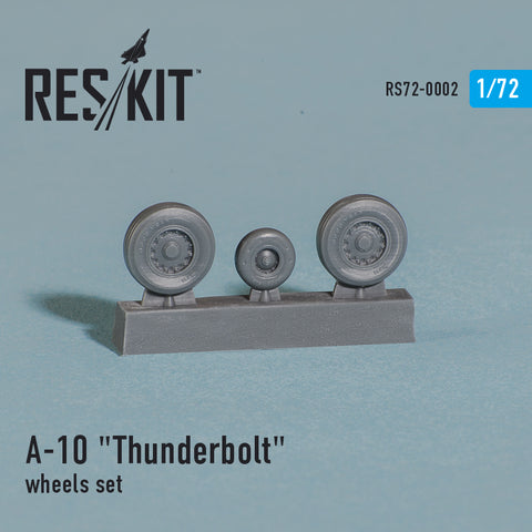 "Fairchild Republic A-10 ""Thunderbolt"" Wheels Set"