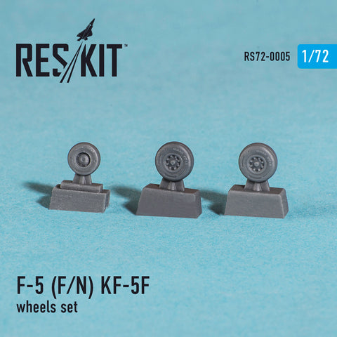 "Northrop F-5 F/N ""Tiger II"",  KF-5F Wheels Set"
