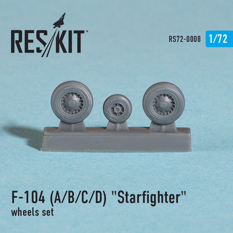 "Lockheed  F-104 (A/B/C/D) ""Starfighter"" Wheels Set"