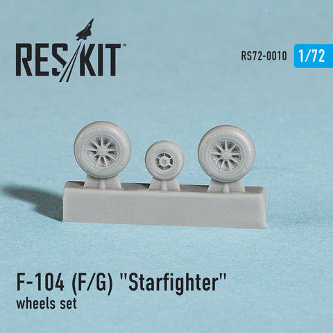"Lockheed  F-104 (F/G) ""Starfighter"" Wheels Set"