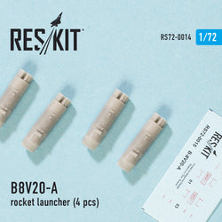 B8V20-A  rocket launcher (4 pcs) for Mi-8/17/24/28 Ka-29/32/50/52