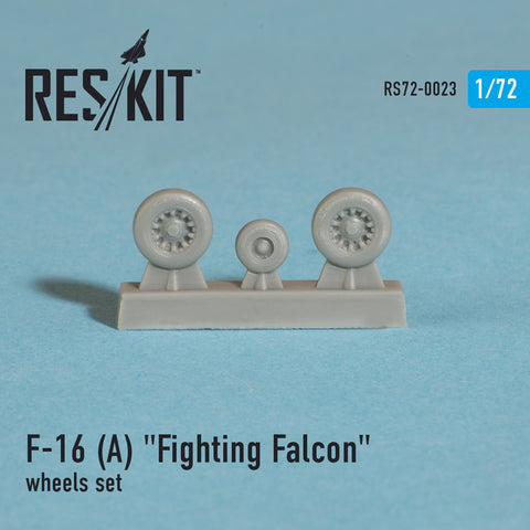 "General Dynamics F-16 (A) ""Fighting Falcon"" Wheels Set"