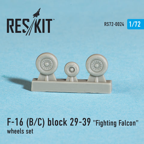 "General Dynamics F-16 (B/C) block 29-39 ""Fighting Falcon"" Wheels Set"
