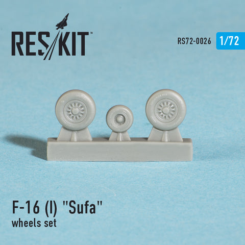 "General Dynamics F-16 (I) ""Sufa"" Wheels Set"