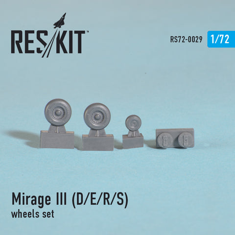 Dassault Mirage III (D/E/R/S) Wheels Set