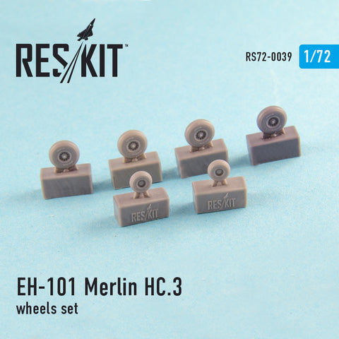 EH-101 Merlin HC.3 Wheels Set