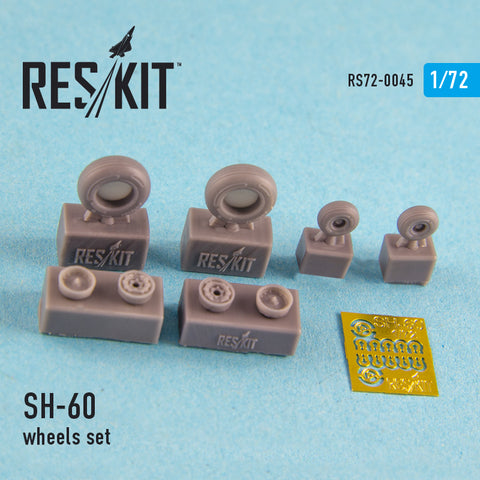SH-60 (all versions) Wheels Set