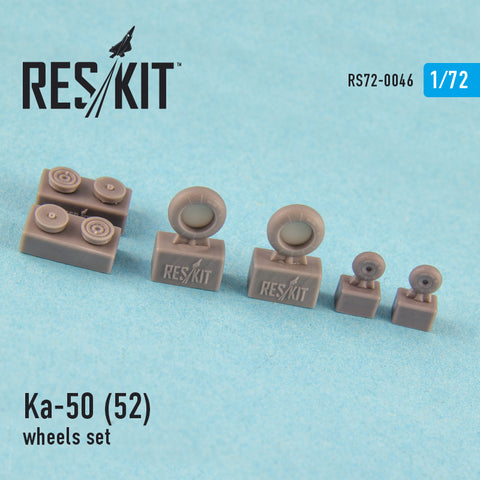 Ka-50 (52) (all versions) Wheels Set