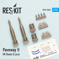 Paveway-II (UK) Bomb (2 pcs) (Tornado, Eurofighter,Buccaneer, Harrier)