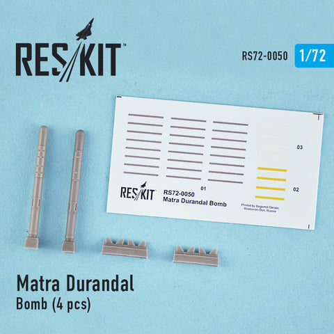 Matra Durandal Bomb (4 pcs) for F-15 E Strike Eagle, F-111, Mirage 2000