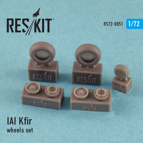 IAI Kfir wheels set