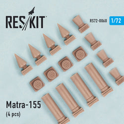 Matra-155 (4 pcs) for Hunter, Canberra, Harrier, Phantom, Jaguar, Hawk, Strikemaster