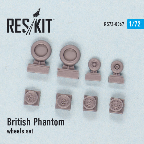 British Phantom Wheels Set