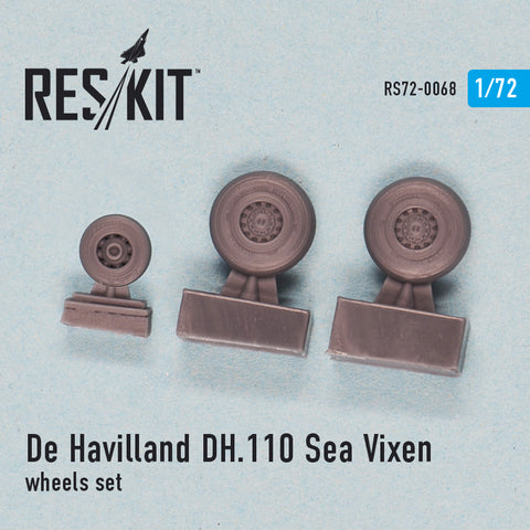 De Havilland DH.110 Sea Vixen Wheels Set