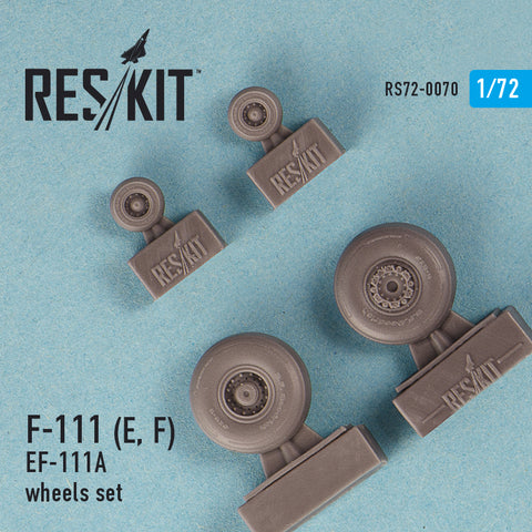 General Dynamics F-111 (E, F) / EF-111A Wheels Set