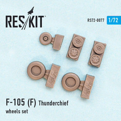 Republic F-105 (F) Thunderchief Wheels Set
