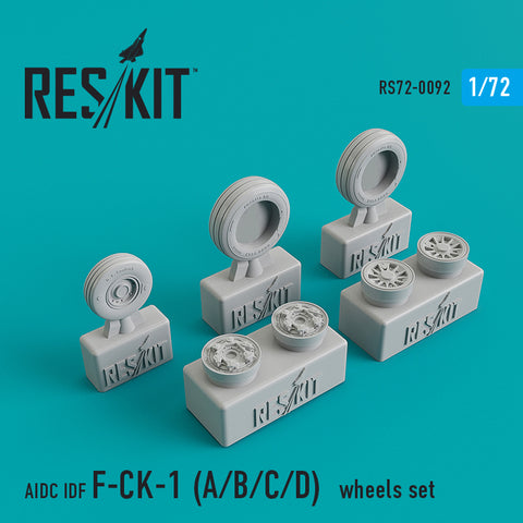 AIDC IDF F-CK-1 A/B/C/D Wheels Set