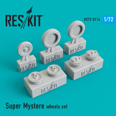 Dassault Super Mystère Wheels Set