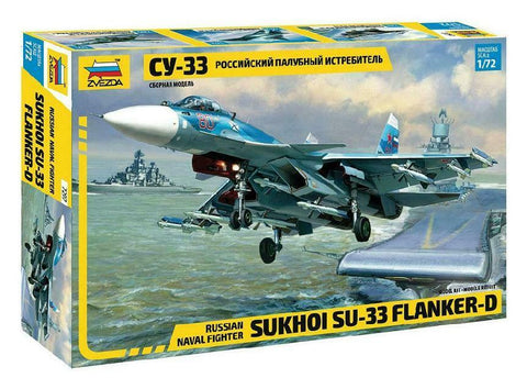 Russian Naval Fighter Sukhoi Su-33 Flanker-D